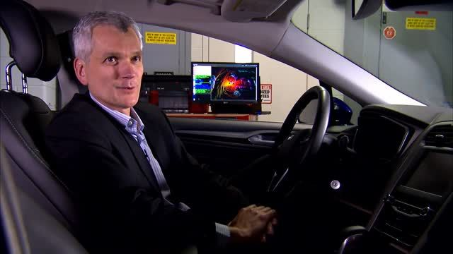 News video: Ford Fusion Hybrid research vehicle - Interview Paul Mascarenas