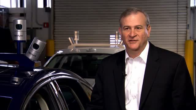News video: Ford Fusion Hybrid research vehicle - Interview Randy Visintainer