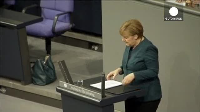 News video: Merkel llama a implimentar los controles para prevenir futuras crisis